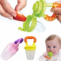 Baby Fruit Feeder Baby Teether Baby Soother Blue Medium Size   FREE UK Delivery